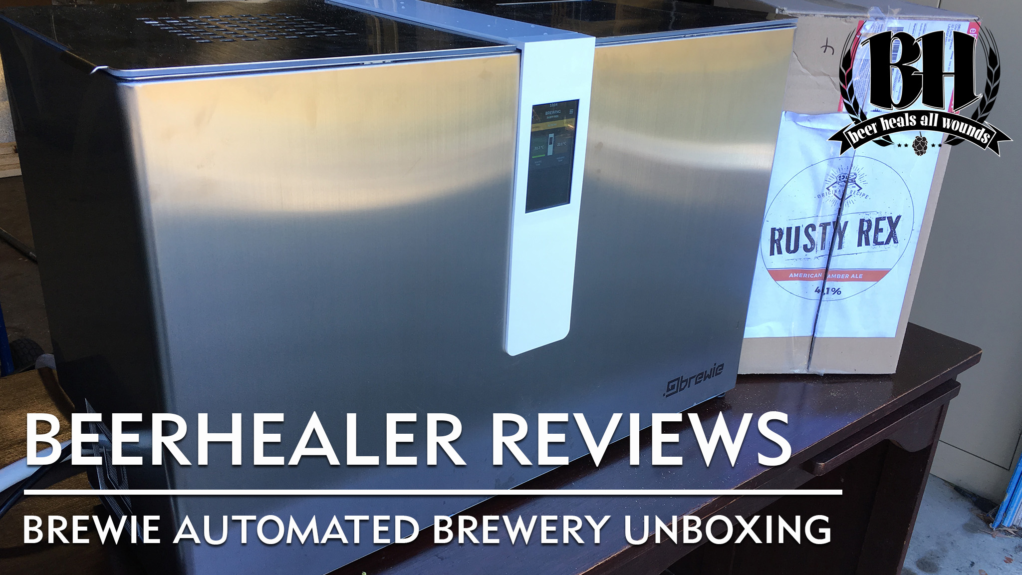 Brewie Automated Brewing Machine Unboxing The Beer Healer